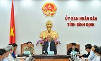 阮春福要求及时向因洪灾失去住房的家庭提供宅基地和建房帮助