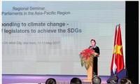 阮氏金银:各国要在维护绿色地球中加强团结与协调