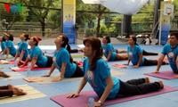 越南第三次国际瑜伽日将于6月25日在胡志明市举行