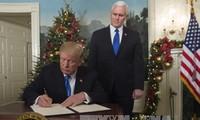 亚太和拉美国家就美国宣布承认耶路撒冷为以色列首都表态