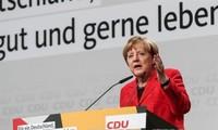 德国总理默克尔对与社会民主党的谈判前景表示乐观