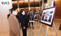 阮氏金银出席亚太议会论坛第26届年会开幕式最后一次彩排