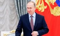 世界各国领导人向俄罗斯当选总统普京致贺