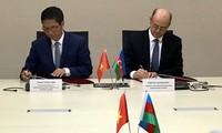 越南和阿塞拜疆政府间联合委员会第二次会议圆满闭幕