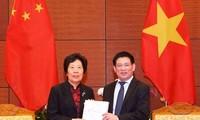 加强越南国家审计署与中国审计署的合作