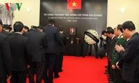 东盟各国悼念越南国家主席陈大光