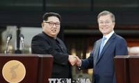 韩朝两国领导人对第二次美朝首脑会晤表示乐观