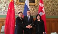 朝中俄互相支持对无核化的观点