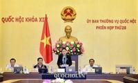 越南第14届国会常务委员会第28次会议闭幕