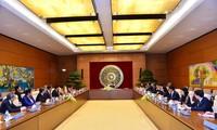 阮氏金银会见出席第三届东盟妇女工作部长会议的各国代表团团长