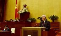 越南国家主席阮富仲提请国会通过CPTPP