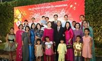 越南驻阿根廷大使馆举行2019年社区迎春活动