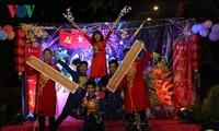 在柬越南留学生喜迎2019年己亥春节