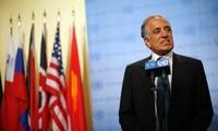美国对与塔利班谈判的积极进展表示欢迎