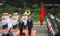 阿根廷总统马克里和夫人对越南进行国事访问