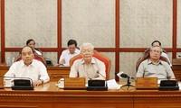 越共中央总书记、国家主席阮富仲主持中央政治局会议