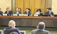 越南促进裁军谈判会议的务实讨论