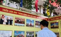 """""""越南共产党 – 90个历史春天""""图片展在芹苴市举行"""