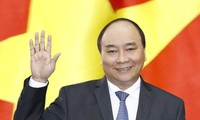 越南政府总理阮春福对缅甸进行正式访问