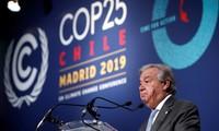联合国秘书长古特雷斯对COP25结果表示失望
