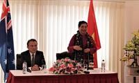 越南国会副主席丛氏放看望越南驻澳大利亚大使馆和旅澳越南人