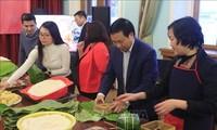 越南驻俄罗斯大使馆为旅俄越南人举行欢度新春活动