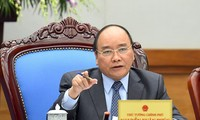 阮春福主持防范新型冠状病毒感染的肺炎疫情会议