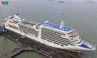 顺化和岘港接待两艘国际邮轮