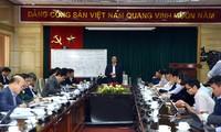 武德担视察越南新冠肺炎诊断与治疗业务协助在线管理、协调中心