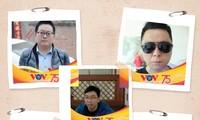 各国听众更换头像 庆祝越南之声开播75周年