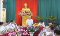 អគ្គលេខាបក្ស លោក Nguyen Phu Trong អញ្ជើញទៅបំពេញទស្សនកិច្ចការងារនៅខេត្ត Nghe An