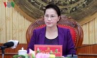 ប្រធានរដ្ឋសភាវៀតណាមលោកស្រី Nguyen Thi Kim Ngan អញ្ជើញជួបធ្វើការនៅខេត្ត Thanh Hoa