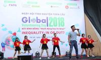 ទិវាស្ម័គ្រចិត្តសកលលោកឆ្នាំ២០១៨ - Global Volunteering Day 2018
