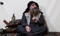 មេដឹកនាំអង្គការ IS  Al Baghdadi បានបង្ហាញមុខឡើងវិញក្រោយរយៈ ៥ ឆ្នាំ