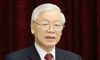 អគ្គលេខាបក្ស ប្រធានរដ្ឋ លោក Nguyen Phu Trong ផ្ញើសារលិខិតអបអរសាទរក្នុងឱកាសគម្រប់ខួប ៧០ ឆ្នាំនៃការបង្កើតសមាគមអ្នកកាសែតវៀតណាម