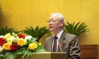 រដ្ឋសភាចាប់ផ្ដើមដំណើរការបញ្ចប់មុខតំណែងប្រធានរដ្ឋចំពោះលោក Nguyen Phu Trong