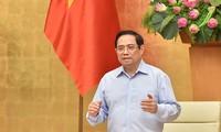 សេចក្តីសន្និដ្ឋានរបស់លោកនាយករដ្ឋមន្រ្តី Pham Minh Chinh នៅក្នុងកិច្ចប្រជុំតាមអ៊ិនធឺរណែតជាមួយថ្នាក់ដឹកនាំទីក្រុងហូជីមិញស្តីពីការងារបង្ការប្រយុទ្ធប្រឆាំងជំងឺកូវីដ ១៩