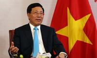 លោកឧបនាយករដ្ឋមន្រ្តី  Pham Binh Minh៖ ពង្រឹងការទាញយកផលប្រយោជន៍ពីទីផ្សារថ្មីៗ ដែលមានកិច្ចព្រមព្រៀងពាណិជ្ជកម្មសេរី (FTA) ដូចជា CPTPP និង EVFTA