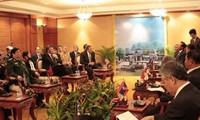 Bế mạc Hội nghị hẹp Bộ trưởng Quốc phòng ASEAN 2012