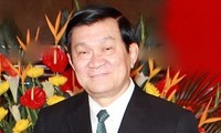 Chủ tịch nước Trương Tấn Sang lên đường thăm Brunei và Myanmar