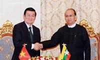 Kết quả chuyến thăm Brunei và Myanmar của Chủ tịch nước Trương Tấn Sang