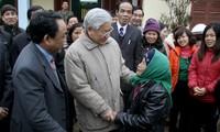 Tổng bí thư Nguyễn Phú Trọng thăm và làm việc tại tỉnh Lào Cai