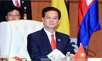 Thủ tướng Nguyễn Tấn Dũng kết thúc các hoạt động tại Hội nghị cấp cao ASEAN lần thứ 22