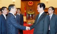 Bí thư Khu ủy Quảng Tây, Trung Quốc Bành Thanh Hoa thăm Việt Nam