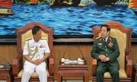 Bộ trưởng Bộ Quốc phòng tiếp Tư lệnh Hải quân Hoàng gia Brunei