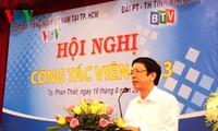 Đài Tiếng nói Việt Nam tổ chức hội nghị cộng tác viên các tỉnh miền Đông Nam Bộ