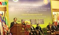 Việt Nam tham dự Hội nghị Bộ trưởng ASEAN lần thứ 8 về phúc lợi và phát triển xã hội