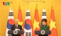 Tổng thống Hàn Quốc Park Geun Hye mở tiệc chiêu đãi trọng thể Tổng Bí thư Nguyễn Phú Trọng