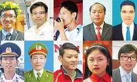 Lễ trao giải thưởng gương mặt trẻ Việt Nam tiêu biểu năm 2014
