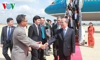 Chủ tịch Quốc hội Nguyễn Sinh Hùng tới Washington DC thăm chính thức Hoa Kỳ